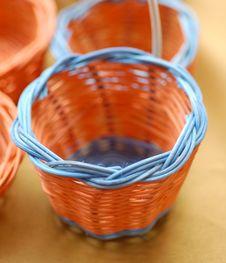 Free Orange Mini Basket Stock Photos - 2447763