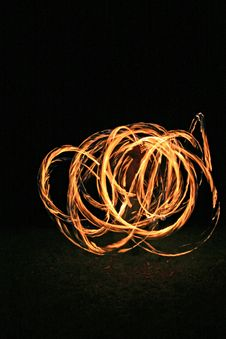 Free Fire Dancer Stock Images - 2447984