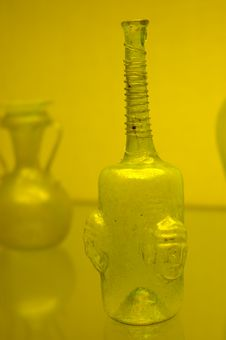 Free Antique Glass Bottles Royalty Free Stock Photo - 2448045