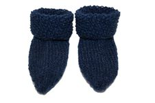 Free Blue Baby-Socks Royalty Free Stock Photos - 2449158