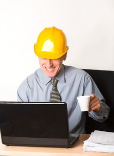 Laughing Employee Stock Images