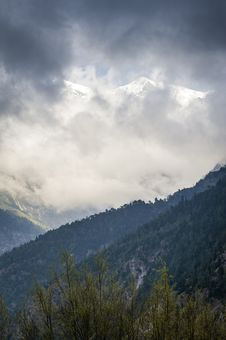 Free Stormy Weather In Himalaya Stock Images - 24400894
