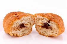 Free Croissant Cut Stock Photo - 24402830