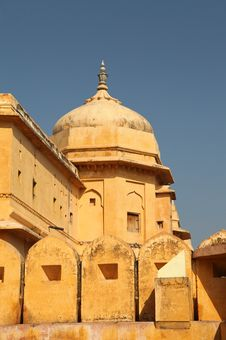 Free Amber Fort Royalty Free Stock Photography - 24404627
