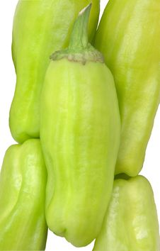 Free Small Green Peppers&x28;close Up&x29; Stock Images - 24405104
