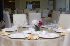 Free Wedding Table Stock Photography - 24409972