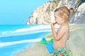 Free Happy Child On The Beach Stock Photo - 24413830