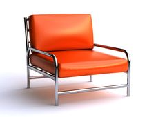 Free Leather Chair Stock Photo - 24410740