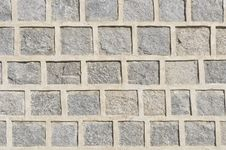 Gray Granite Stone Wall Pattern Royalty Free Stock Images