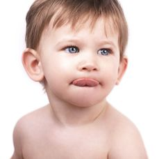 Free Cute Little Boy, Tongue Out Royalty Free Stock Photography - 24413017