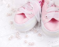 Free Baby Shoes Stock Photo - 24413600
