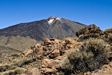 Free Mount Teide Royalty Free Stock Images - 24414389