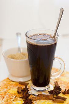 Free Coffee With Sugar Stock Image - 24417911