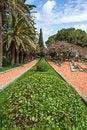 Free Fragment Of Famous Bahai Gardens Stock Photo - 24424110