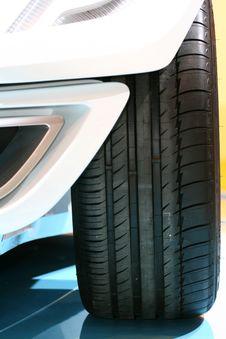 Free Car Prototype Tyre Stock Photography - 24420282