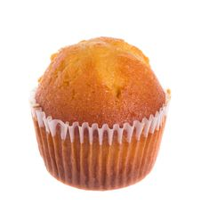 Free Vanilla Cupcake Royalty Free Stock Images - 24421019