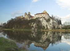 Free Early Spring In Tyniec, View Across Vistula River Stock Photos - 24422223