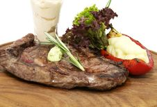 Free Steaks Stock Photography - 24422682