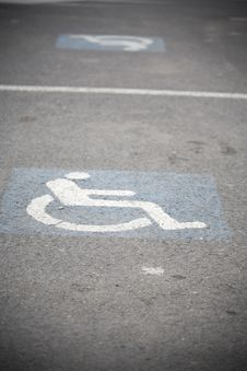 Free Handicap Sign Stock Photo - 24422970