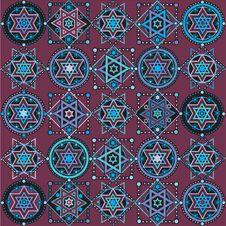 Free Geometric Pattern Royalty Free Stock Photo - 24425365