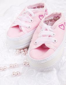 Free Baby Shoes Stock Photos - 24426383