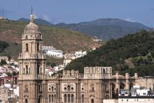 Free Cathedral Of Malaga Stock Photos - 24428093