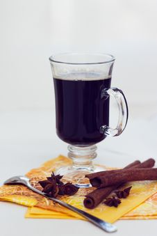 Free Black Coffee Cup Royalty Free Stock Images - 24428229