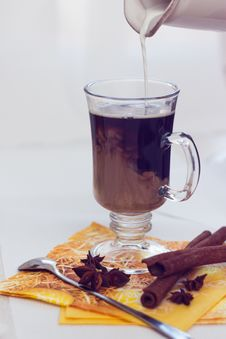 Free Black Coffee Royalty Free Stock Photos - 24428248