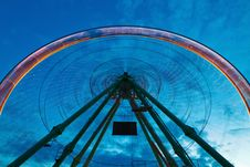 Free Ferris Wheel In Motion Stock Photo - 24429070