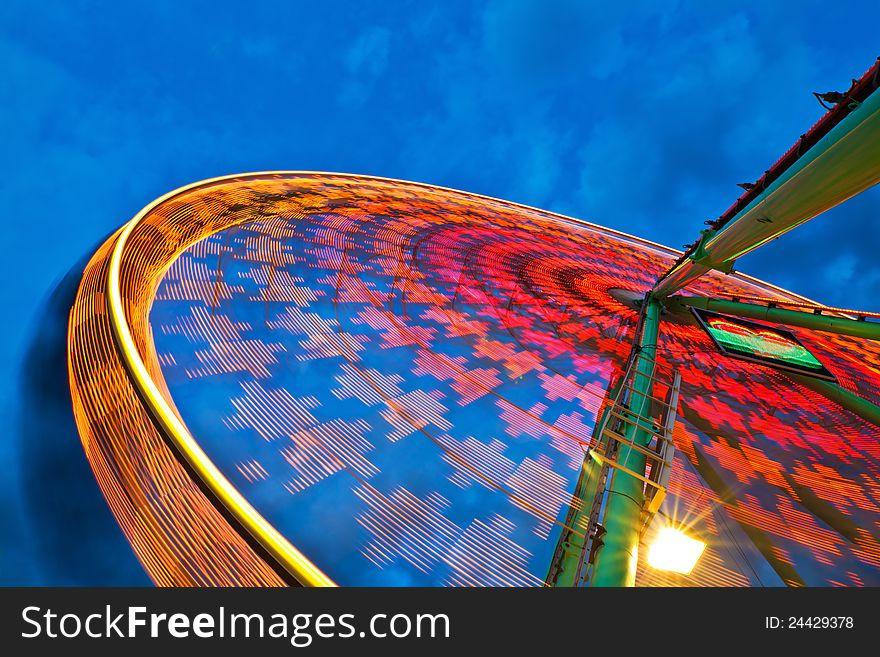 Ferris wheel action