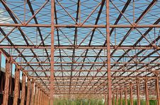 Metallic Structure Stock Image