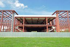 Metallic Construction Stock Photo