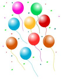 Free Balloons Royalty Free Stock Image - 24436616