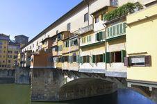 Free Ponte Vecchio, Florence, Italy Stock Image - 24438751