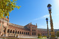 Free Spain Square In Seville Royalty Free Stock Image - 24442936