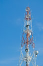 Free High Tower With Antenna For  Communication Stock Photography - 24443192