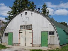 Free Old Quonset Hut Building Stock Photo - 24441150