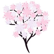 Free Flowering Spring Tree Royalty Free Stock Photography - 24441177