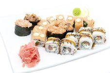 Free Sushi Royalty Free Stock Photography - 24441737
