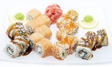 Free Sushi Royalty Free Stock Photo - 24441775