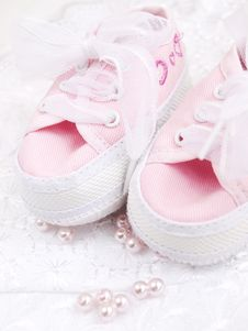 Free Baby Shoes Stock Photo - 24442110