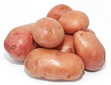 Free Red Potatoes Royalty Free Stock Image - 24442666