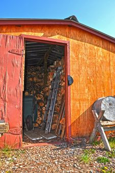 Free Old Wood Shed Stock Image - 24449271