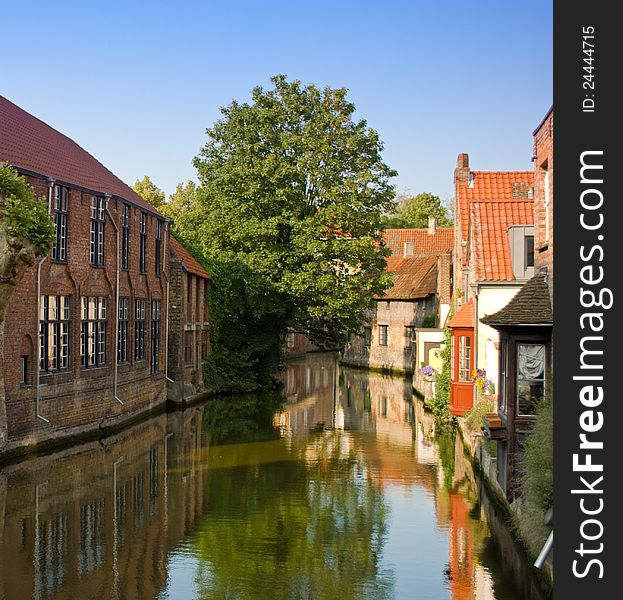 Bruges, important historical city of Belgium