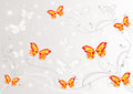 Free Abstract Butterflies Background Stock Photo - 24452630
