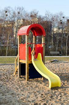 Free Modern Slide In Park Stock Image - 24452341