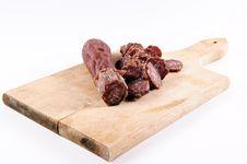 Free Serbian Sausage Royalty Free Stock Photo - 24453115