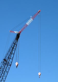 Free Crane Royalty Free Stock Image - 24454886
