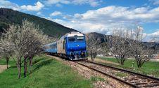 Free EGM, Diesel Electric Locomotive Royalty Free Stock Photos - 24456708