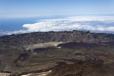 Free Landscape From Teide Peak In Tenerife Royalty Free Stock Photos - 24457978